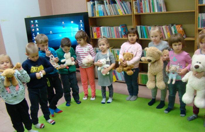 Dzień Pluszowego Misia w Bibliotece Miejskiej – Gr. II