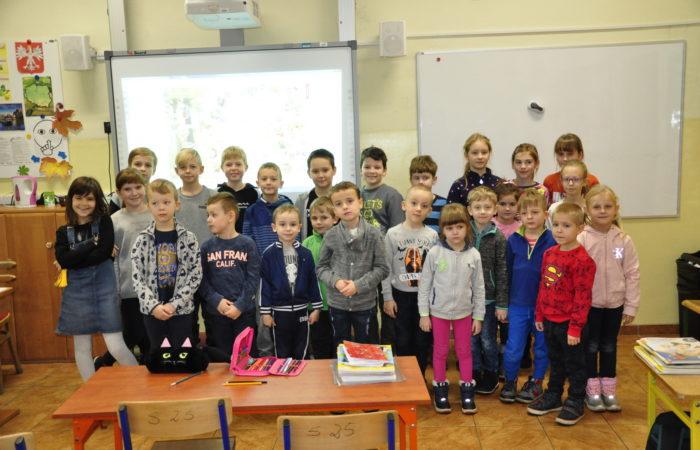 Zajęcia w Szkole Podstawowej Nr 20 – Gr. V