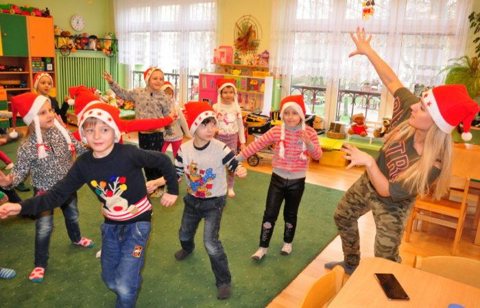Mikołajkowa zumba z instruktorem Szkoły Tańca – Gr. V
