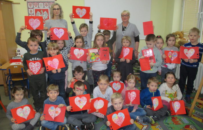 Walentynki w Wojewódzkiej Bibliotece Pedagogicznej – Gr. IV