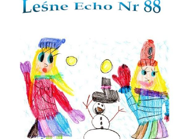 """Gazetka Przedszkolna """"Leśne Echo""""- Zima 2021"""