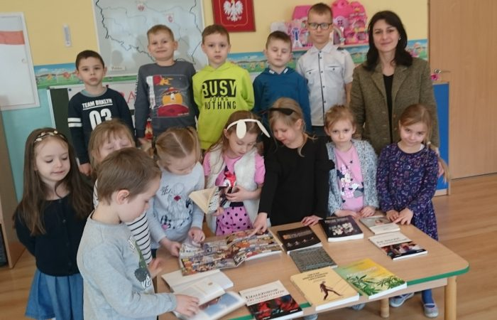 Spotkanie z biliotekarką z Pedagogicznej Biblioteki Wojewódzkiej – Gr. IV