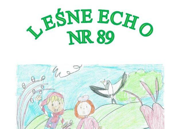 """Gazetka Przedszkolna """"Leśne Echo"""" nr 89"""