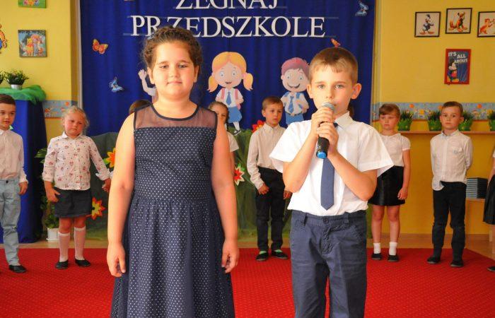 Pożegnanie przedszkola – Gr. V