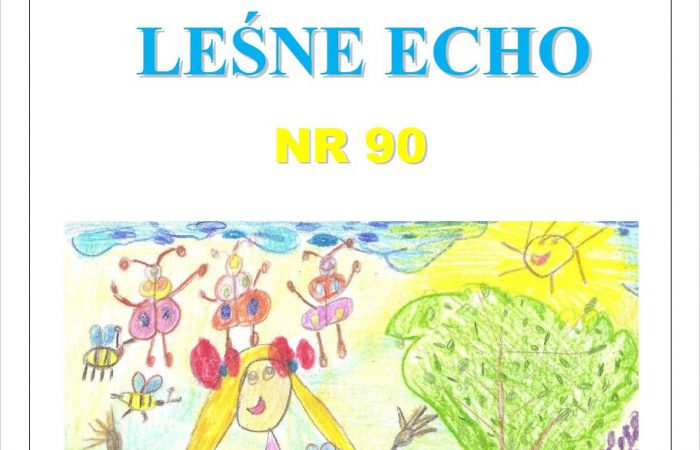 """Gazetka przedszkolna """"Leśne Echo"""" – nr 90"""