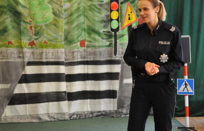 Spotkanie Policjantką – Gr. III, IV, V