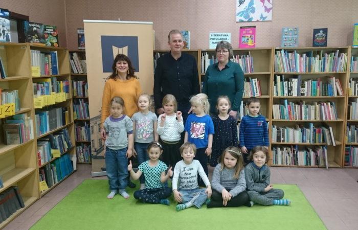 Zajęcia edukacyjne w Bibliotece Miejskiej – Gr. III