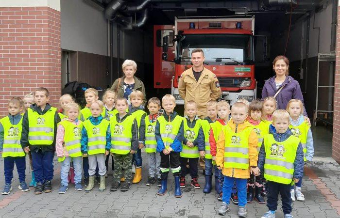 Wycieczka do Straży Pożarnej – Gr. III