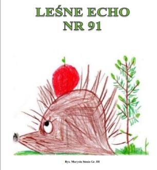 """Gazetka Przedszkolna """"Leśne Echo"""" – Jesień 2021"""
